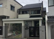 大阪市天王寺区T様邸、外壁屋根塗装工事・防水工事完工です