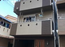 大阪市東淀川区T様邸、外壁屋根塗装工事・ベランダ防水工事完工