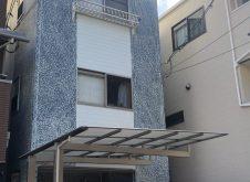 大阪市天王寺区N様邸、外壁屋根塗装工事完工