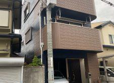 大阪市平野区H様邸、外壁屋根塗装工事完工