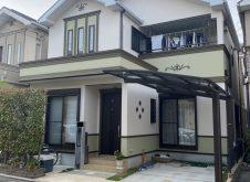 大阪市住吉区T様邸、外壁屋根塗装工事完工