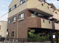 大阪市住之江区H様邸、外壁屋根塗装工事完工