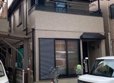 大阪府八尾市S様邸、外壁屋根塗装工事完工